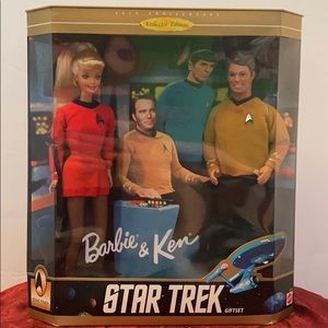Star Trek Barbie & Ken Giftset 1996